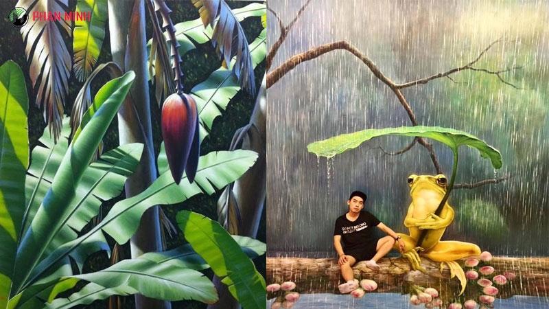 Vẽ tranh tường giá rẽ tại TP Hồ Chí Minh