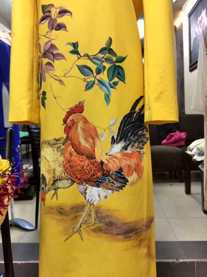 Vẽ áo dài giá tốt tại TP HCM