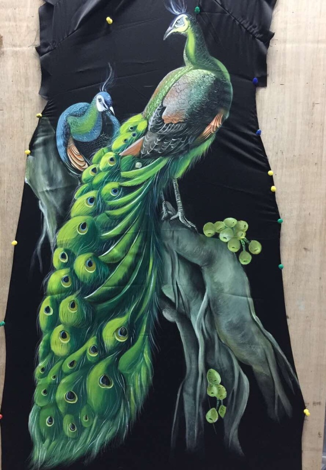 Vẽ áo dài nghệ thuât