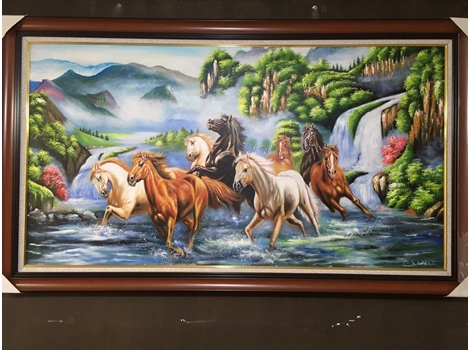 Vẽ tranh sơn dầu theo yêu cầu