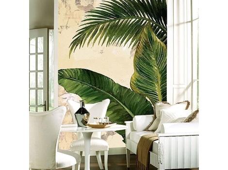 Vẽ tranh tường nhiệt đới (tropical)