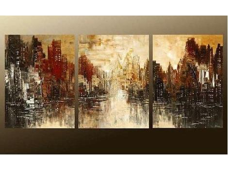 Vẽ tranh sơn dầu nghệ thuật