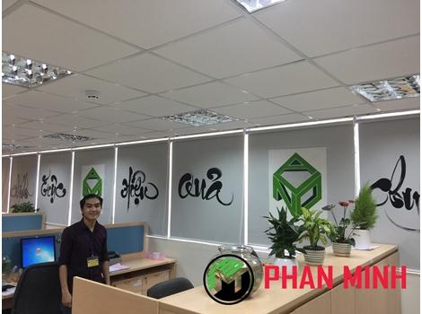 Vẽ tranh tường trang trí Văn Phòng, Chung Cư, Trung Tâm Thương Mại