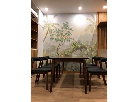 Vẽ tranh tường trang trí Văn Phòng