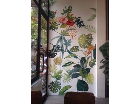 Vẽ tranh tường SPA, trung tâm thẩm mỹ